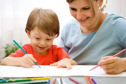 parent-and-child-writing-together - Reading Kingdom Blog